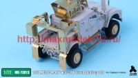 TetraME-72013   1/72 M1240 M-ATV & O-GPK Turret Detail-up Set for Galaxy Hobby (attach4 41116)