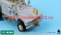TetraME-72013   1/72 M1240 M-ATV & O-GPK Turret Detail-up Set for Galaxy Hobby (attach5 41116)