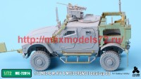 TetraME-72014   1/72 M1240 M-ATV & M153 CROWS II Detail-up Set for Galaxy Hobby (attach1 41127)