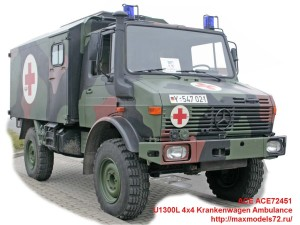 ACE72451   U1300L 4x4 Krankenwagen Ambulance (thumb42112)