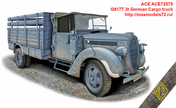 ACE72575   G917T 3t German Cargo truck (thumb41033)