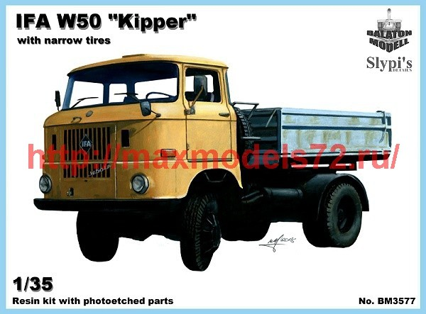 "BM3577   IFA W50 ""kipper"" w. narrow tires (thumb39276)"