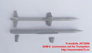 JK72006   SAM-6  (conversion set for Trumpeter) (attach2 36526)