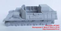 JK72007   Sturmpanzer II  Bison II 15cm s.I.G.33 (attach4 39139)