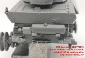 OKBV72073   German Medium Tank Pz.IV Ausf.H, original 9./B.W. configuration (attach6 40039)