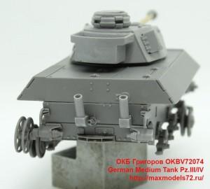 OKBV72074   German Medium Tank Pz.III/IV (attach6 40126)