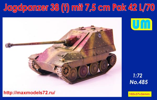 UM485   Jagdpanzer38(t) mit 7.5 cm Pak42L/70 (thumb38647)