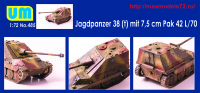 UM485   Jagdpanzer38(t) mit 7.5 cm Pak42L/70 (attach1 38647)
