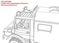 ACE72451   U1300L 4×4 Krankenwagen Ambulance (attach12 42112)