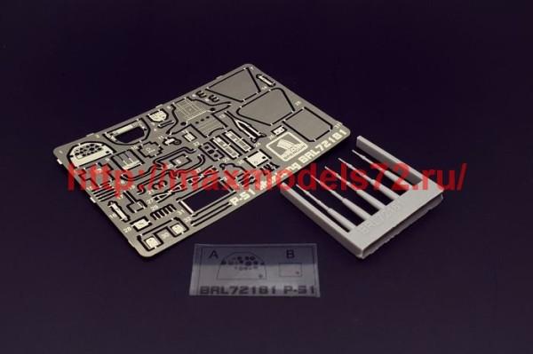 BRL72181   P-51/ Mustang Ia (Brengun kit) (thumb39403)