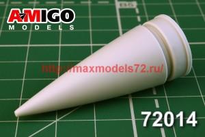 АМG 72014   МиГ-31 радиопрозрачный обтекатель (thumb40668)