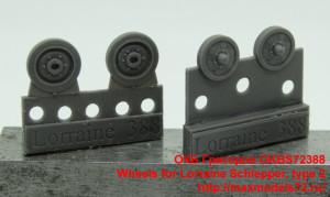 OKBS72388   Wheels for Lorraine Schlepper, type 2 (thumb38416)