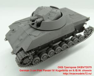 OKBV72075   German 3 cm Flak Panzer IV Kugelblitz on 9./B.W. chassis (attach9 41373)
