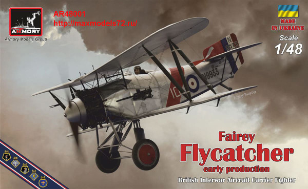 AR48001   1/48 Fairey «Flycatcher» British mid-War FAA Fighter, early version, w/ Jaguar-III engine (thumb41749)