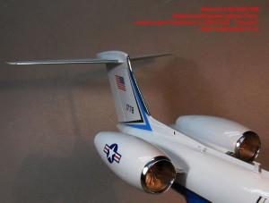 """MiniWA7269   Воздухозаборники,трубки Пито,антены для Gulfstream C-37B/G-550   """"Amodel"""" (attach2 39521)"""