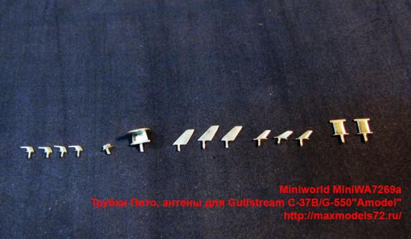 """MiniWA7269a   Трубки Пито,антены для Gulfstream C-37B/G-550""""Amodel"""" (thumb39525)"""