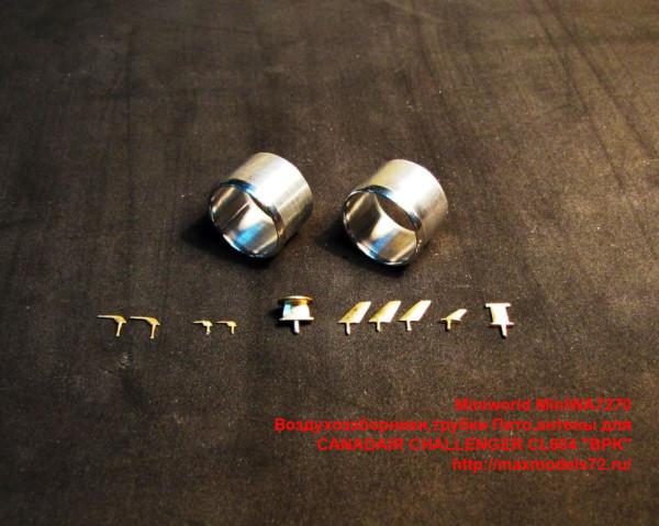 "MiniWA7270   Воздухозаборники,трубки Пито,антены для CANADAIR        CHALLENGER CL604 ""BPK"" (thumb39527)"