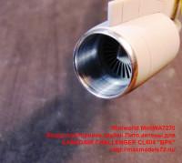 MiniWA7270   Воздухозаборники,трубки Пито,антены для CANADAIR        CHALLENGER CL604 «BPK» (attach2 39527)