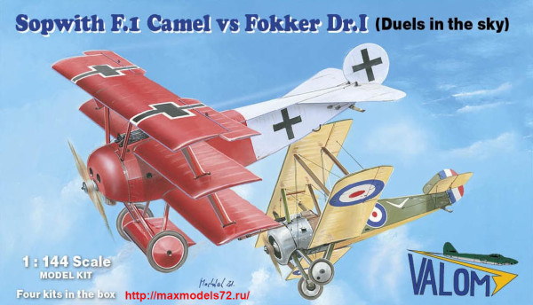 VM14421   Sopwith F.1 Camel vs Fokker Dr.I (thumb39223)
