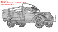 ACE72576   V3000S 3t German Cargo truck (early flatbed) (attach1 38941)