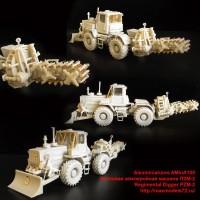 AMinA100   Полковая землеройная машина ПЗМ-2  Regimental Digger PZM-2 (attach4 40170)