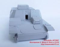 JK72007   Sturmpanzer II  Bison II 15cm s.I.G.33 (attach2 39139)