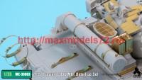 TetraME-35063   1/35 Russian T-80U MBT Detail-up Set for Trumpeter (attach7 41094)