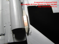 A-squared72005   UV-5-08(50) IR Flare Blocks for MiG-29 SMT. (attach4 40460)