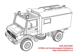 ACE72451   U1300L 4x4 Krankenwagen Ambulance (attach9 42112)