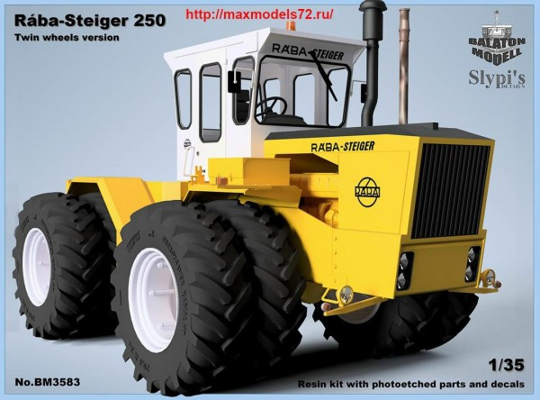 BM3583   Raba-Steiger 250 heavy tractor w. twin wheels (thumb40706)