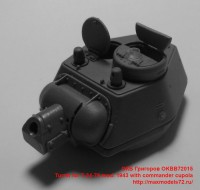 OKBB72015   Turret for Т-34-76 mod. 1943 with commander cupola (attach2 41354)