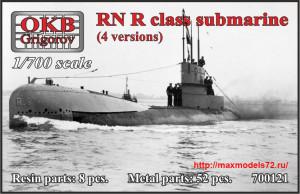 OKBN700121   RN R class submarine (thumb41316)