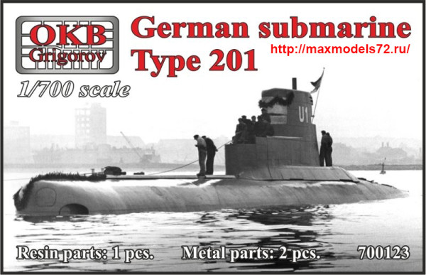 OKBN700123   German submarine Type 201 (thumb41329)