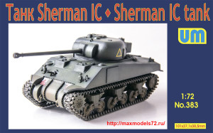 UM383   Medium tank Sherman IC (thumb40119)