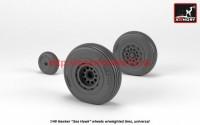 AR AW48415   1/48 Hawker «Sea Hawk» wheels w/ weighted tires (attach2 41225)