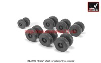 AR AW72506   1/72 A400M «Grizzly» wheels w/ weighted tires (attach2 41270)