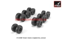 AR AW72506   1/72 A400M «Grizzly» wheels w/ weighted tires (attach3 41270)