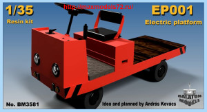 BM3581   EP001 electric platform truck (thumb40696)