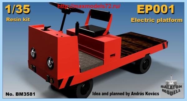 BM3581   EP001 electric platform truck (thumb40696)