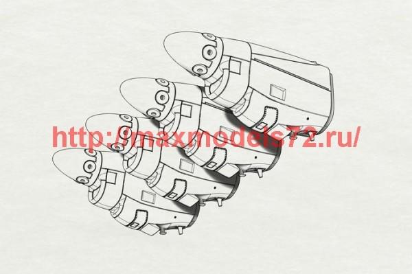 BRL48123   C-130J engine nacells (Italeri kit) (thumb40845)