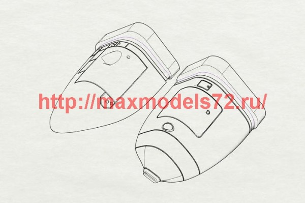 BRL72186   C-130J Sponson (Italeri kit) (thumb40813)