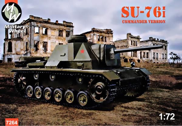 MW7264   SU-76i, Commander tower version (thumb39681)