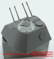 OKBB72016   Turret for Pz.V Panther, 2 cm Flakvierling, Rheinmetall proposal (attach2 41864)