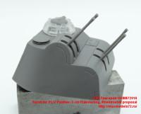 OKBB72016   Turret for Pz.V Panther, 2 cm Flakvierling, Rheinmetall proposal (attach3 41864)