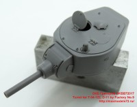 OKBB72017   Turret for T-34-122, D-11 by Factory No.9 (attach4 41871)