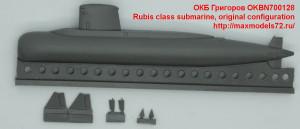 OKBN700128   Rubis class submarine, original configuration (attach1 41859)