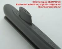 OKBN700128   Rubis class submarine, original configuration (attach2 41859)