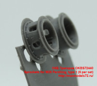 OKBS72440   Sprockets for M26 Pershing, type 1 (6 per set) (attach2 40179)