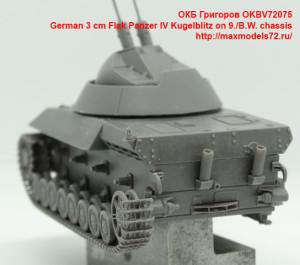 OKBV72075   German 3 cm Flak Panzer IV Kugelblitz on 9./B.W. chassis (attach5 41373)