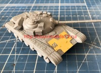 Penf72116 1:72 Доп. бронирование на ВЛД Т-64 (ФТД)                    Penf72116 1:72 PE additional front armor plate for T-64 (attach1 40874)